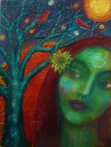 360_tree_woman