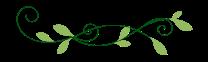 Leaf tendrils divider